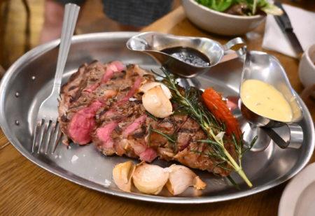 お肉・お肉・お肉で胃袋を満たせるステーキハウス。@灣仔