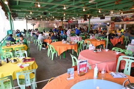 復路の専用フェリーが無料!?な絶品海鮮レストランにて元旦ランチ。@南丫島